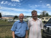 Bob with Mark Fast in Oroville